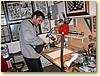 Simone Bianchi nel suo studio a Lucca - photo (c) G.Goria