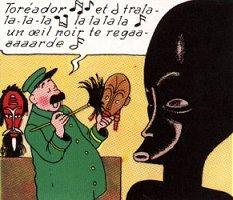 Tintin- Introduction de l'Oreille cassée-